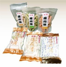 ⑧薄荷糖(はっかとう)袋6種類